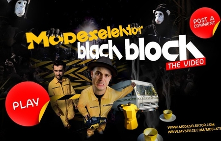 modeselektor black block video